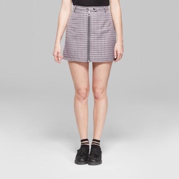 60a0cbe36f6 Wild Fable Plaid Skirt. M 5c2f00791b3294cb9d21ac95